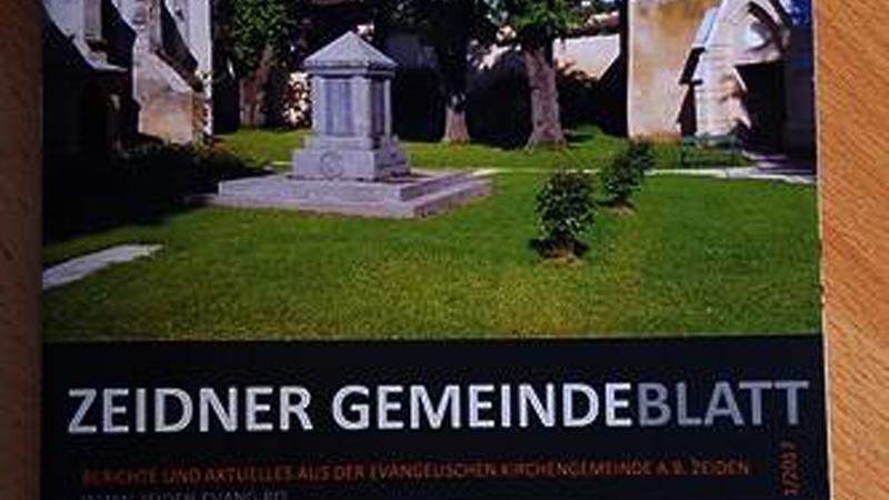 Zeidner Gemeindeblatt