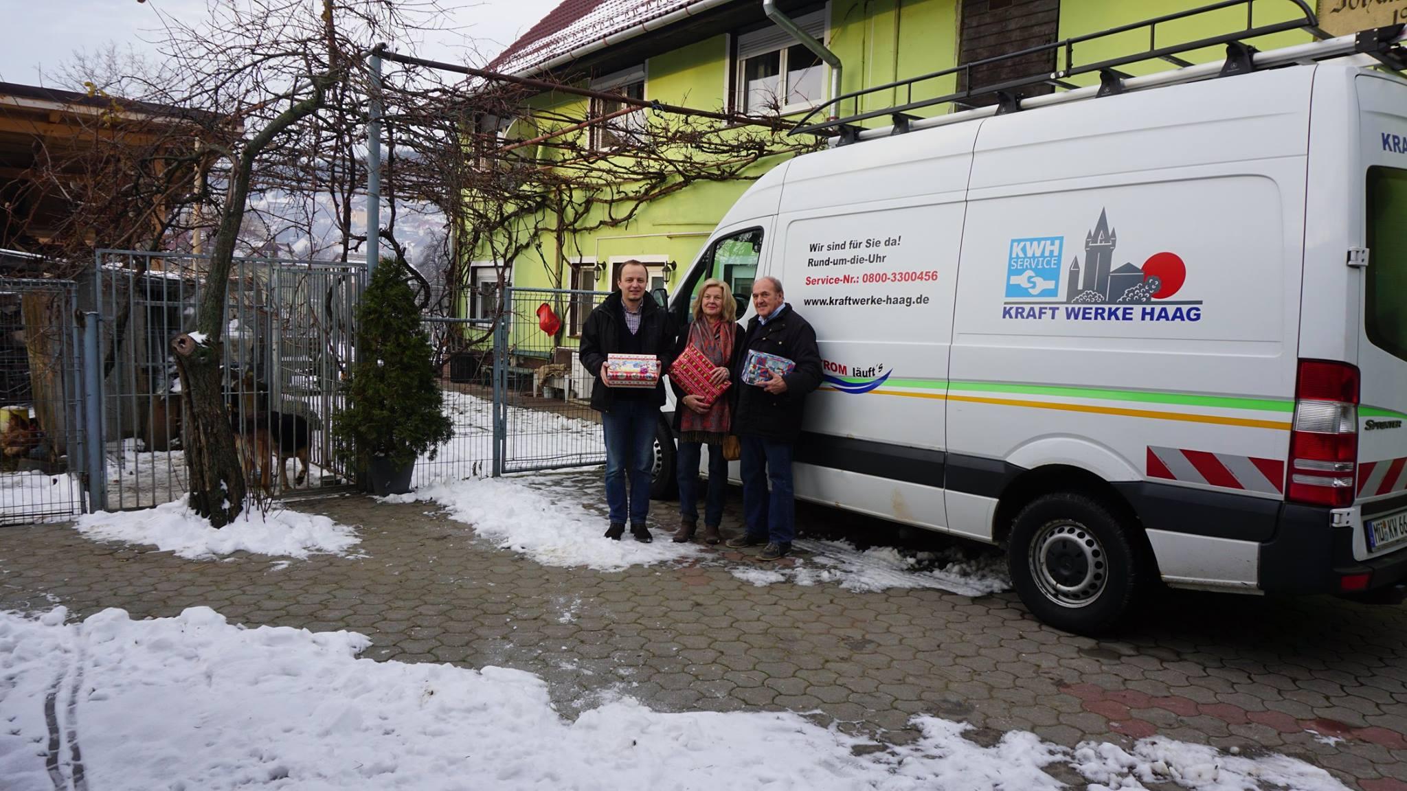 Weinachtsbescherung aus Oberbayern